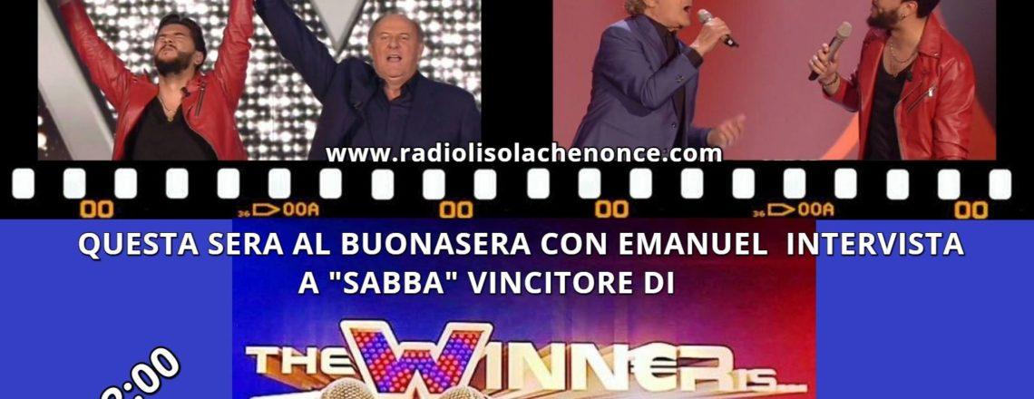 QUESTA SERA CON NOI IL VINCITORE DI THE WINNERS IS 2017